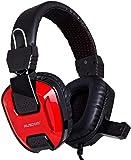 ausdom Gaming Headset Kopfhörer Stereo 7.1Kanal USB Wired mit Mikrofon Lautstärkeregler LED-Licht