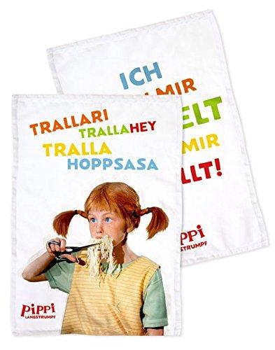 Preisvergleich Produktbild Pippi (Film) Küchentuch-Set: 2 Stück