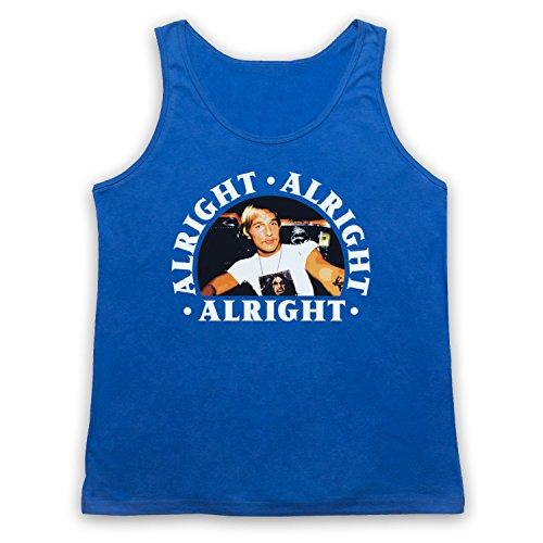 Dazed And Confused Alright Alright Alright Tank-Top Weste Blau