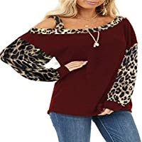 Otoño e Invierno T Sangre Mangas Femeninas Costuras Sueltas Cuello Diagonal Jersey Manga Larga Damas suéter