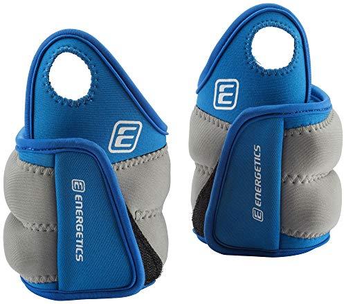 ENERGETICS Gewichtsmanschette mit Daumenschlaufe Blau/Grau, 1 kg