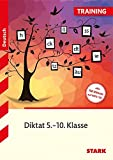 Training - Deutsch Diktat 5.-10. Klasse