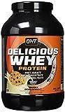 QNT Delicious Whey Protein Powder, Cookies & Cream, 1 kg