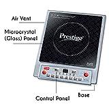 Prestige PIC 1.0 V2 1900-Watt Induction Cooktop (Black)