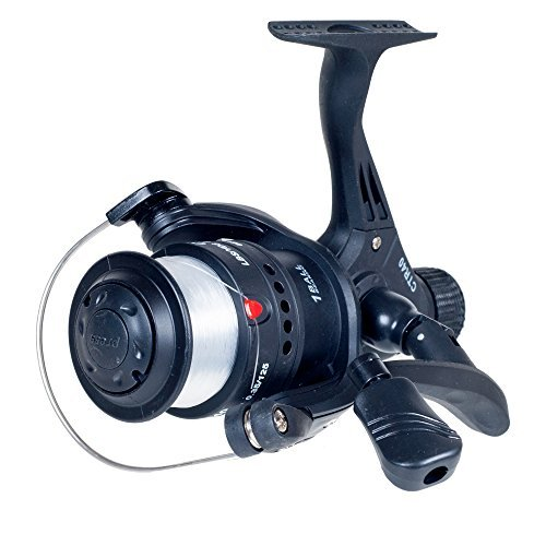 Gone Fishing Open Face Spinning Reel, Black by Gone Fishing