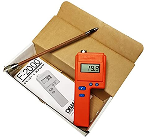 Delmhorst F2000 Hay Moisture Meter Tester 10 inch Probe Value Pkg by Delmhorst