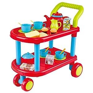 23-Piece Tea Time Trolley Set