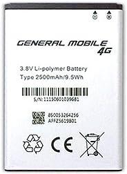 General Mobile 4G Android One Orjinal Batarya Pil