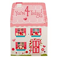 Hallmark 4th Birthday Card For Girl