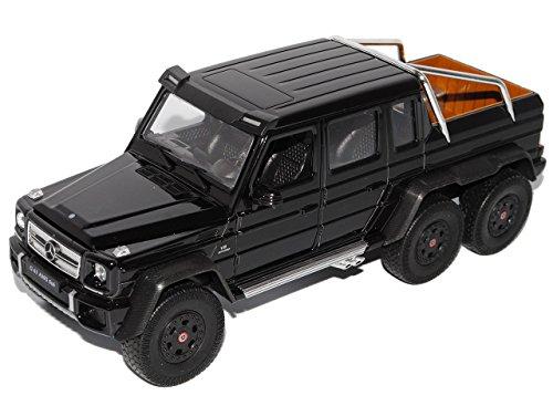 mercedes-benz-g-klasse-g63-amg-6x6-schwarz-1-24-welly-modell-auto-mit-individiuellem-wunschkennzeich