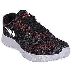 Campus Polar Black Running Shoes