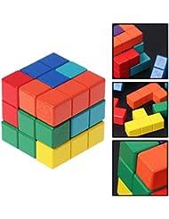 Magnetische Bausteine Spielwaren Für Kinder, 7pcs Magnetischer Magischer Würfel, Stressabbau Spielzeug, Puzzles Für Die Entwicklung Von Intelligenz Für Kinder