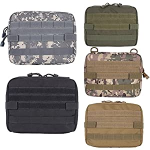 51p32bJ%2BU7L. SS300  - Reefa MOLLE Admin Multifunction Pouch EDC Tools Bag for Outdoor Hunting Fishing Camping