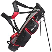 Bullet Lightweight 6.5 inch Stand Bag (Red/Black/Grey) by Cruiser Golf