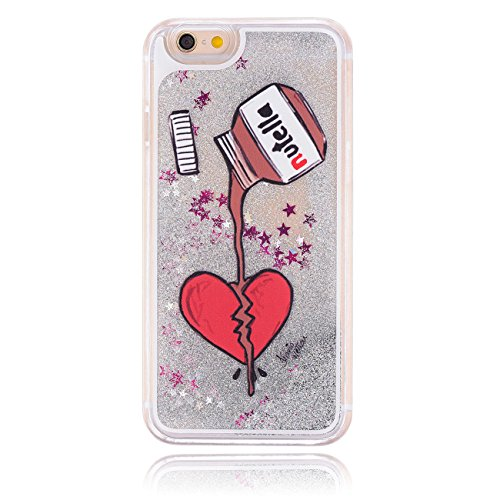 "MOONCASE Étui pour iPhone 6 Plus (5.5"") Glitter Quicksand Dynamic Hard Housse Coque Etui Shell Case Cover LS07 LS05 #0111"