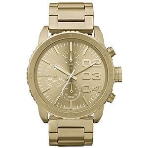 Reloj Diesel DZ5302 de cuarzo para mujer con correa de acero inoxidable, color dorado de Diesel