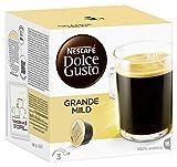 NESCAFÉ Dolce Gusto Grande Mild | 16 Kaffeekapseln | 100% Arabica Bohnen | Mildes Aroma und feine Crema  | Leicht bekömmlich | Aromaversiegelte  Kapseln | 1er Pack (1 x 16 Kapseln)