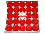 Numen Spark Red Amour Rose Scented Tea-Light Candle For Decoration(Pack Of 50)