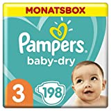 Pampers Baby-Dry Windeln, Monatsbox