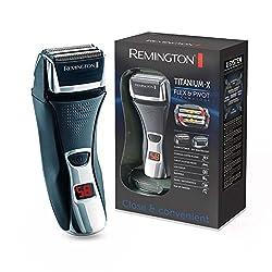 Remington F7800 Folienrasierer Titanium-X, Triple Shave Technologie, schwarz/silber