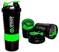 Piyuda Plastic Bottle Sport Mixer Protein Shaker Cup 500ml Assorted Color by MK