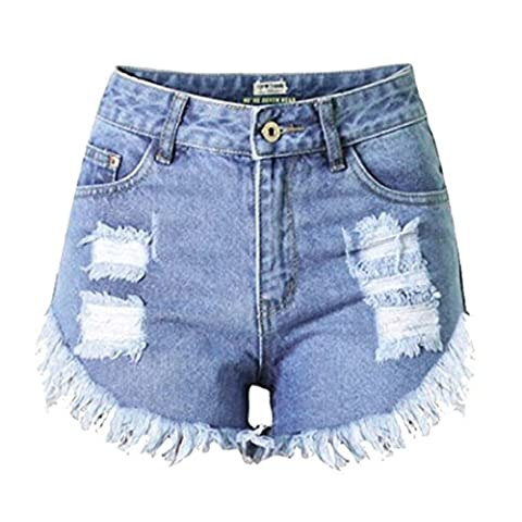 Women's Casual New Arrival Slim Fit Denim Shorts RoyalBlue / M
