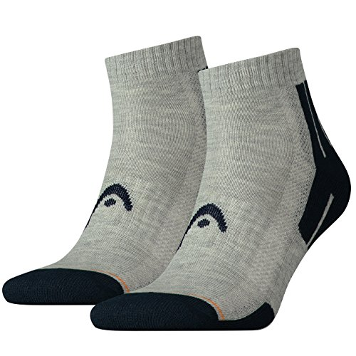 head-unisex-performance-quarter-sportsocken-8er-pack-grosse39-42farbemiddle-grey-melange-blue