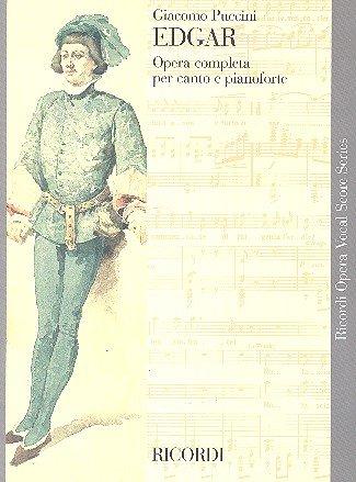 RICORDI PUCCINI G.  EDGAR  CHANT ET PIANO Klassische Noten Chor und Gesangsensemble Picture