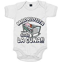 Body bebé Madridista desde la cuna Merengue Madrid fútbol