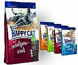 Happy Cat Voralpen Rind 10 kg + 4x 300g