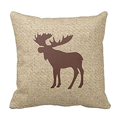 Nunubee Cotton Linen Decorative Throw Pillow Case Sofa Cushion Cover