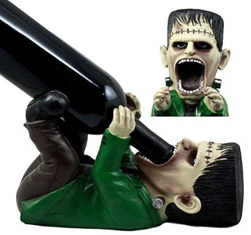 Ebros Prometheus der Jüngste Tag DR Victor Frankenstein Weinflaschenhalter Figur 26cm L Halloween Party Hosting Mittelpunkt Decor
