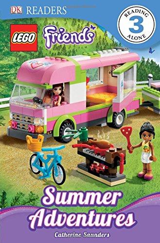 DK Readers L3: Lego Friends: Summer Adventures (Dk Readers. Lego)