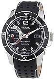 Seiko Herren-Armbanduhr XL Sportura Kinetic Analog Quarz Leder SRG019P2