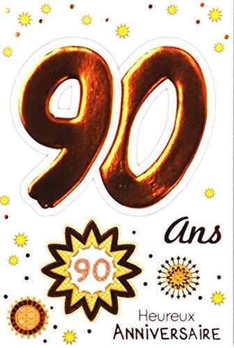 Age MV 69-2044tarjeta cumpleaños 90años