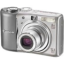 Canon PowerShot A1100 IS fotocamera digitale - Colore: Argento ( (12,1 MP, zoom ottico 4x) LCD 2,5 pollici