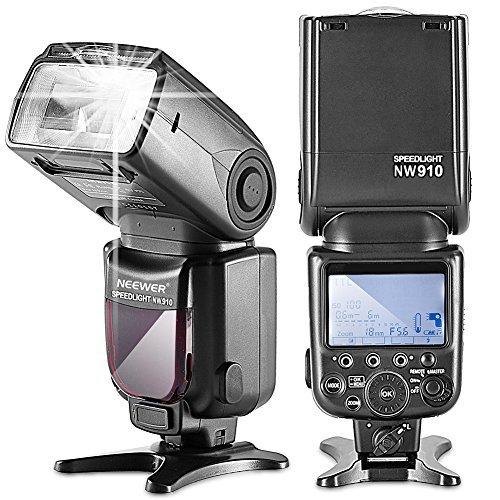 Neewer MK910Blitz dispositivo i-TTL, 1/8000S HSS LCD Display Speedlite Master/Slave Flash per Nikon D3S D60D70D70s D80d80s D200d200s D300D300s D700D3000D3100D5000D5100D7000e tutte le altre Fotocamere Nikon DSLR