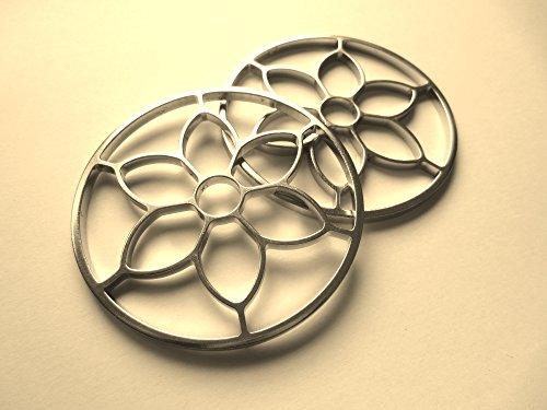 1 Paar Blumen Räder - PS Blumenzaum - Jasmin - Gebisslose Zäumung , Bitless Bridle