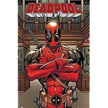Poster Marvel Comics Deadpool Bras croisés (55,9cm x 86,4cm) + un joli emballage cadeau