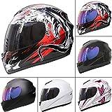Best Motorcycle Helmets - Leopard LEO-819 Full Face Motorbike Motorcycle Helmet Road Review