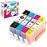 Hehua Remplacer Cartouches d'encre HP 364XL 364 XL Compatible pour HP Photosmart 5520...