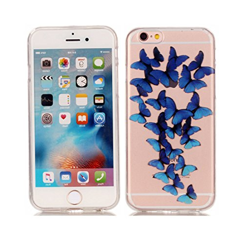 iPhone 6S Plus Custodia Case, Silicone molle TPU iPhone 6s Plus / 6 Plus copertura Cover, Cartoon Modelli di personalità // Tacchi alti // ShockProof Ultra Slim & Pesare leggero # 2