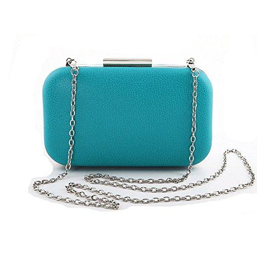 Eysee, Borsa a tracolla donna verde Brown 17cm*10cm*3.5cm blu