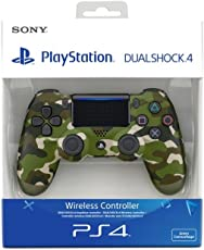 PlayStation 4 - Dualshock 4 Controller Wireless V2, Verde (Green Camo)