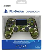 Manette Dual Shock 4 V2 pour PS4 - Green Camouflage