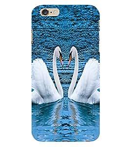 Fuson the pair of duck theme Designer Back Case Cover forApple iPhone 6 Plus :: Apple iPhone 6+-3DQ-1088