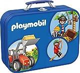 Schmidt Spiele 55599 - Playmobil Caja Puzzle 2 x 60, 2 x 100 piezas en...