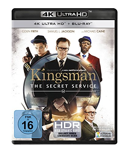 Kingsman - The Secret Service (4K Ultra HD) (+ Blu-ray)