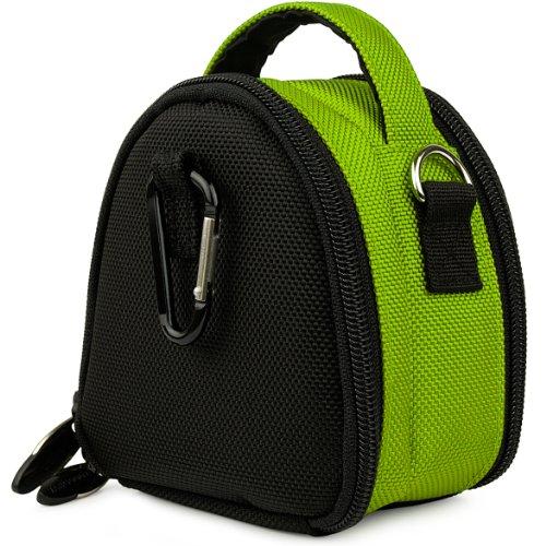 Vangoddy Lime Green Laurel Edition Stylish Nylon Camera Carrying Bag - Sony Cyber - Shot Dsc - Tx9 / Dsc - T99 / Dsc - Tx5 / Dsc - H55 / Dsc - Hx5 (AD_CAMLEA045_AIEVA0021)  available at amazon for Rs.1637