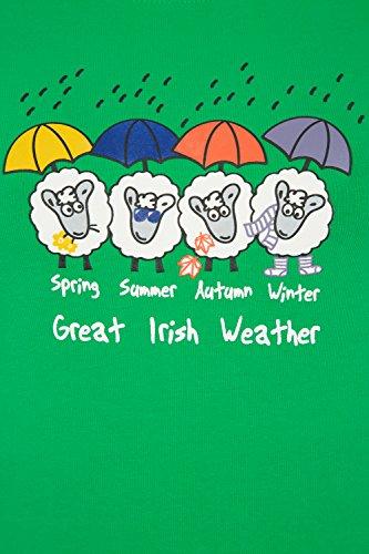 Mountain Warehouse Great Irish Weather Damen-T-Shirt Grün